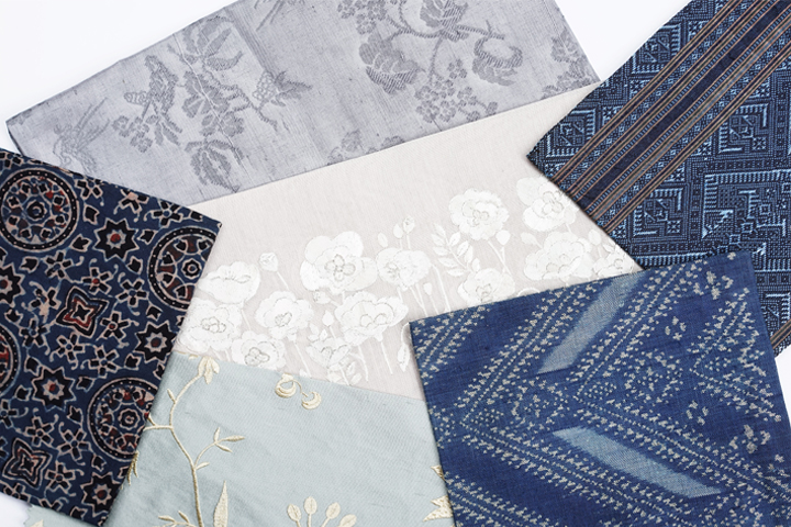 textile n+R 百思百布「花香る」展